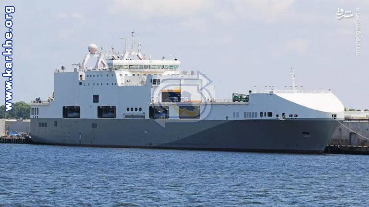 استفاده نیروهای ویژه ارتش آمریکا از کشتی تجاری در رزمایشها و عملیاتها +عکس