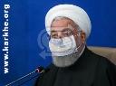 ملت ایران برابر سختی ها زانو نزد