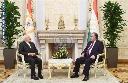 ظریف با امامعلی رحمان رییس جمهوری تاجیکستان دیدار و گفتگو کرد